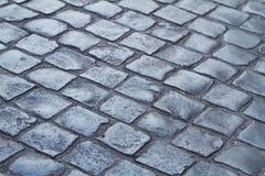 текстура вымощая камней стоковое фото