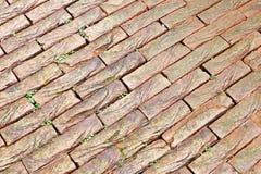 Текстура вымощая камня Стоковые Изображения