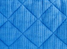 текстура выстеганная тканью Стоковое фото RF