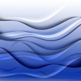 Текстура влияния воды Стоковое Изображение