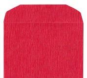 текстура габарита передняя бумажная красная Стоковое Фото