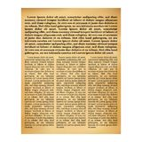 текстура газеты старая иллюстрация вектора