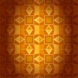 Текстура геометрического золотого штофа безшовная. Абстрактная предпосылка Стоковые Изображения