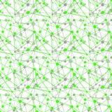 Текстура геометрической предпосылки точек польки безшовная Стоковые Фотографии RF