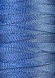 Текстура голубого потока в катышке Стоковые Фотографии RF