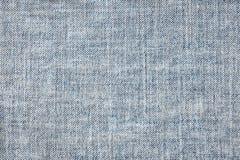 Текстура голубых джинсов безшовных, тканей детали джинсовой ткани для картины и предпосылок, конец вверх Стоковые Фото