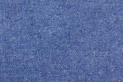 Текстура голубых джинсов безшовных, тканей детали джинсовой ткани для картины и предпосылок, конец вверх Стоковое фото RF