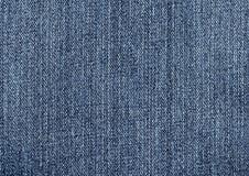 текстура голубых джинсов Стоковые Изображения RF