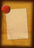 текстура гофрированная коллажем Стоковое Фото