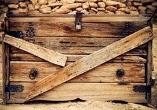Текстура год сбора винограда старая деревянная Стоковое Изображение