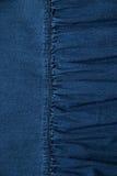 Текстура голубых джинсов Стоковые Изображения
