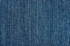 Текстура голубых джинсов Стоковые Фото