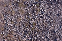 Текстура гравия в дороге стоковое фото