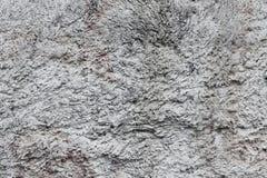 Текстура грубого серого гипсового цемента Стоковая Фотография RF