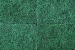 текстура губки зеленого цвета пены целлюлозы Стоковые Изображения