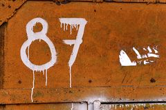 Текстура дверей металла Стоковое Изображение RF