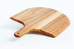 Текстура деревянной доски изолированная на белой предпосылке Стоковые Фотографии RF