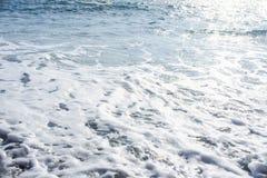 Текстура детали волны моря Стоковое фото RF