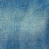 текстура джинсыов ткани детали джинсовой ткани хлопка джинсыы clouse предпосылки голубые освещают вверх Стоковая Фотография