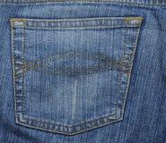 текстура джинсыов Стоковое Изображение RF