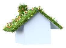 текстура дома eco конструкции принципиальной схемы бесплатная иллюстрация