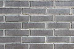 Текстура декоративной кирпичной стены Стоковые Изображения