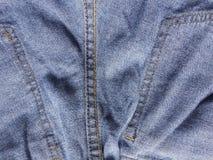 Текстура демикотона шва Стоковое Изображение