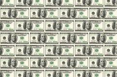 Текстура денег Стоковые Изображения