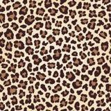 Текстура леопарда безшовная, имитация меха бесплатная иллюстрация