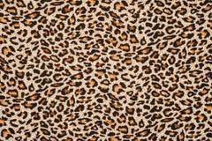 Текстура леопарда striped тканью Стоковое фото RF