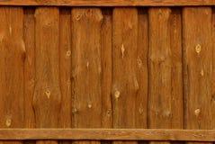 Текстура дерева от коричневой загородки Стоковое Изображение RF