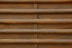 Текстура дерева от коричневой загородки Стоковые Фотографии RF