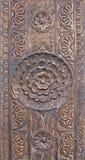 Текстура деревянной мандалы розовая Стоковое Фото