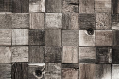 Текстура деревянных блоков Стоковые Фотографии RF