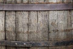 Текстура деревянных доск бочонка Стоковое фото RF
