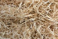 Текстура деревянных shavings Стоковая Фотография