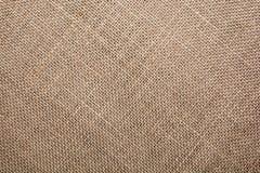 Текстура естественного белья Стоковая Фотография