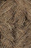 Текстура естественной пряжи Стоковые Изображения