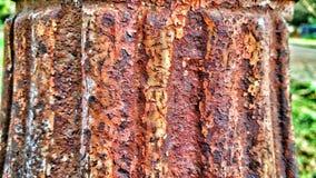 Текстура детали ржавая Стоковая Фотография
