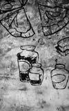 Текстура еды и питья стоковое изображение