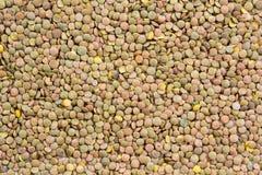 Текстура еды чечевицы Стоковое Изображение RF