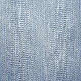 Текстура джинсовой ткани джинсов Свет - цвет серой сини Стоковая Фотография RF