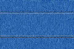 Текстура джинсовой ткани джинсов Стоковые Фото