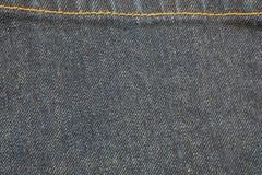Текстура джинсовой ткани предпосылки Стоковое Фото