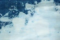 текстура джинсовой ткани ткани предпосылки Стоковые Изображения
