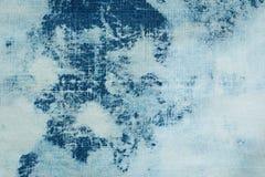 текстура джинсовой ткани ткани предпосылки Стоковое Изображение RF