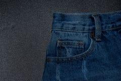 текстура джинсовой ткани ткани предпосылки Стоковые Фото