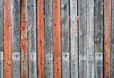 текстура загородки старая деревянная Стоковая Фотография RF