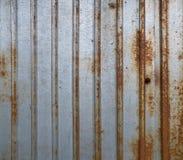 Текстура загородки металла Grunge ржавая Стоковые Фотографии RF