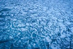Текстура замороженной воды льдед backhander стоковые изображения